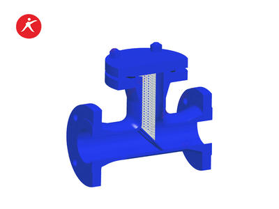High Performance T Type Steam Strainer Valve for Water on Sale (ST34)