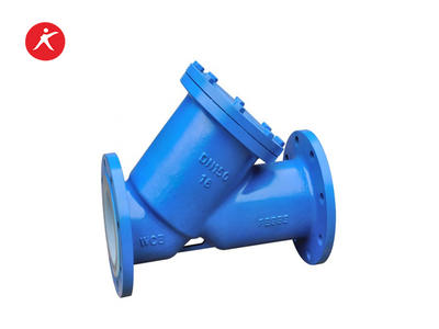 Good Quality Fluorine Lined Y Type Strainer Valve for Water (SYFEP/PFA)