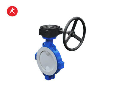 High Performance Fluorine Lined Wafer  Type Butterfly Valve (D71FEP/PFA/PTFE)